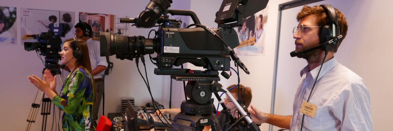 Webcast Camera Crews