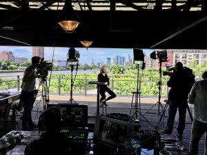cameraman live shoot